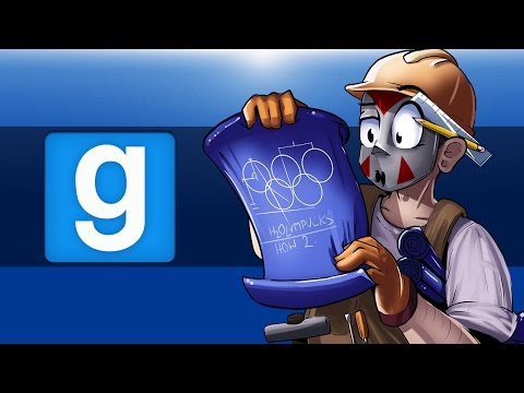 GMOD Olympics  Making an Intro Garrys Mod Delirious Perspective!