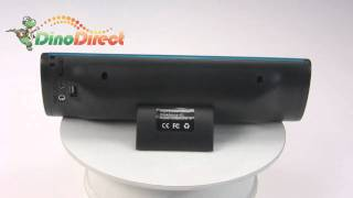 3D sound technology with 2.0 channel mini Speaker system with SD/MMC card slot  from Dinodirect.com