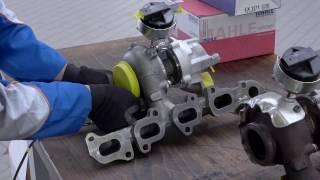 comment changer le turbo-compresseur  by MAHLE