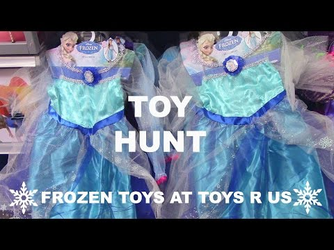 Toy Hunt Toy Hunting Toys R Us Frozen Elsa Anna Kristoff Olaf Frozen Toys And Frozen Dolls
