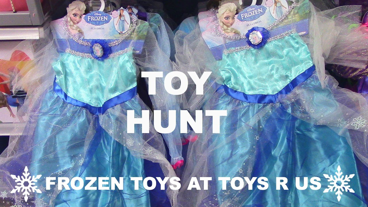 Toy Hunt Toy Hunting Toys R Us Frozen Elsa Anna Kristoff Olaf Frozen Toys And Frozen Dolls Youtube