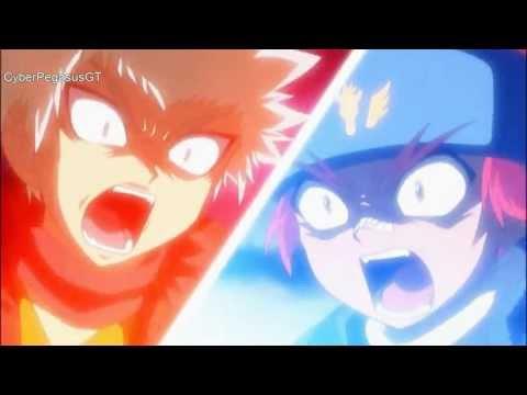 Beyblade AMV: Sol Blaze vs Galaxy Pegasus - Seasons (HD1080p)