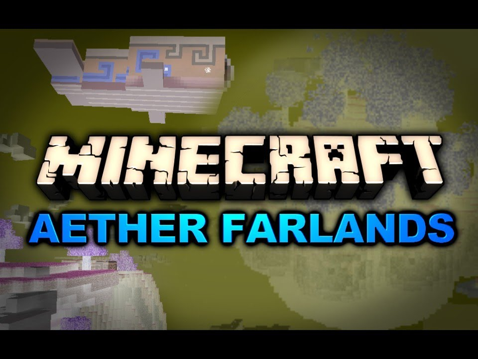 Minecraft Aether Far Lands End Of The World Pt 5
