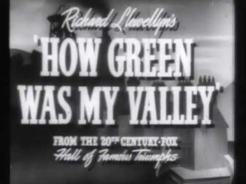 How Green Was My Valley trailer