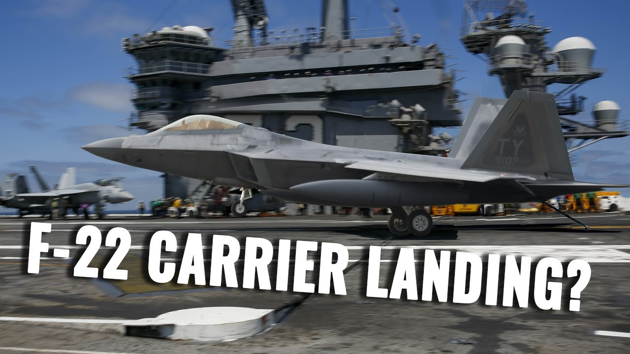 Landing an F-22 Raptor on a carrier: Impossible?
