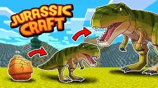 Minecraft Jurassic Craft - A NEW WORLD OF DINOSAURS!