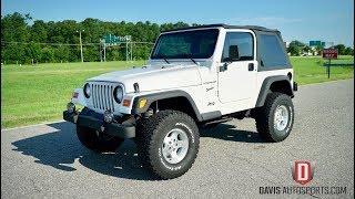 Davis AutoSports 2002 Jeep Wrangler Sport / New Lift / For Sale / Video 1