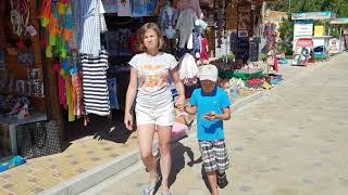 #АНАПА. Прогулка по ул. Набережная сентябрь 2018