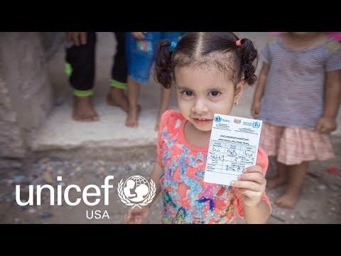 UNICEF Responds to Cholera Crisis in Yemen