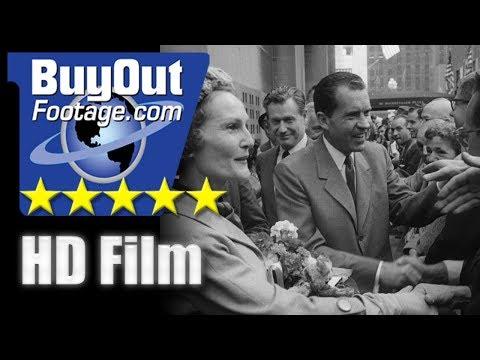 1960 U.S. Presidential Campaign Kennedy vs Nixon - Campaign Trail