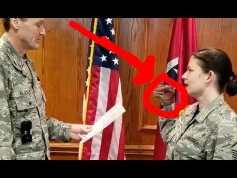Daily Rabbit Hole #212   Air National Guard dinosaur puppet  re-enlistment ceremony video
