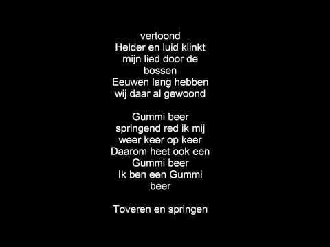 gummibärenbande intro dutch(hollandisch) lyrics