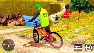 Bike Games - Mountain Bike: MTB Rider BMX Uphill Stunts Race 3D #2 - Gameplay Android free games