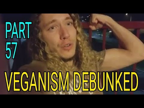 VEGANISM DEBUNKED - PART 57 - MIC THE VEGAN HAS BAGGY EYES THO