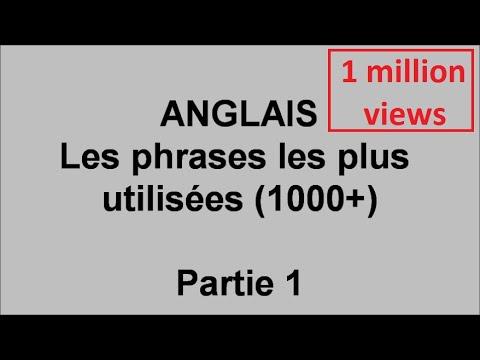 Download Débutants cours d'anglais, 1000 phrases les plus utilisées  - pt1
