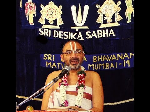 26 Sep 2015 Part(1)Sri.Velukudi Upanyasam on Swami Desikan Thirumalai Divya Desa Anubhavam