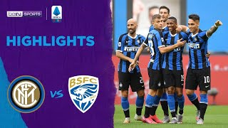 Inter Milan 6-0 Brescia   Serie A 19/20 Match Highlights