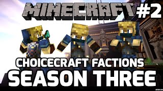 Choicecraft Factions S3: Episode 2: Mining with RonnygoBOOM!