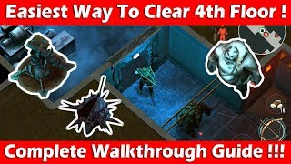 Easiest Way To Clear Bunker Alpha Floor 4! (Full Walkthrough Guide) Last Day On Earth