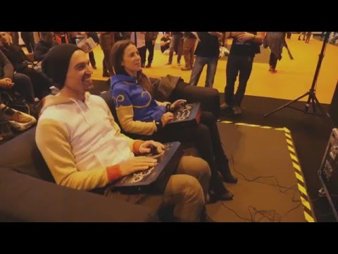 Assassin's Creed's Paul and Victoria play Street Fighter V