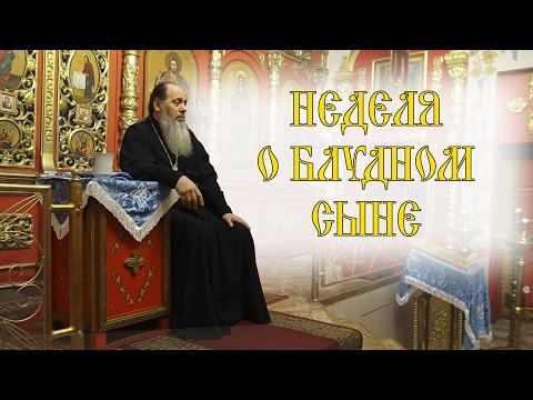 Протоиерей Владимир Головин. Актуальная проповедь: Неделя о блудном сыне