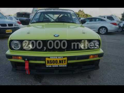 1990 BMW 325is E30 BARed M50 W Trailer for sale in Fremont CA
