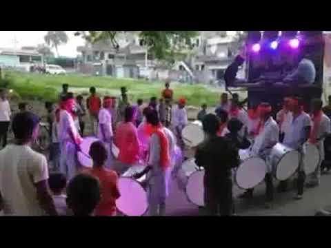 Best mashup on dhol tasha (airtel+detol+saare jahan Se achha)