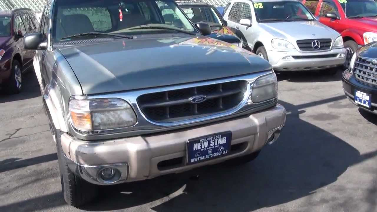 All Star Auto Sales >> 1999 Ford Explorer 5.0 V8 Eddie Bauer Edition 4WD - YouTube