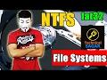 फाइल सिस्टम क्या होता है  Understanding File System  FAT32 Vs NTFS(Hindi Urdu)