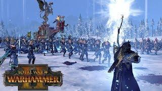 Volkmar the Grim vs Alith Anar // Total War: Warhammer II Online Battle #257