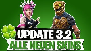 UPDATE 3.2 | NEUE SKINS | ST. PATRICK'S EVENT | FORTNITE BATTLE ROYALE Deutsch