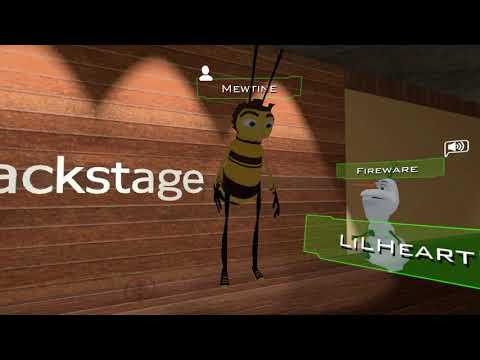 Barry Bee goes Super Saiyan 3 for the first time in VRChat