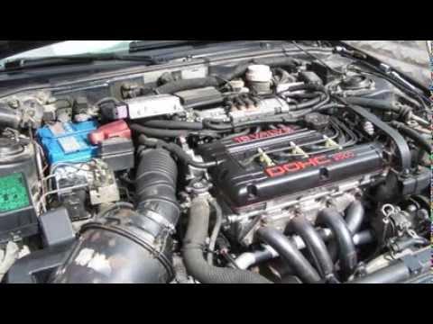 Mitsubishi Eclipse N/A 4g63 bad idle and stall - YouTube