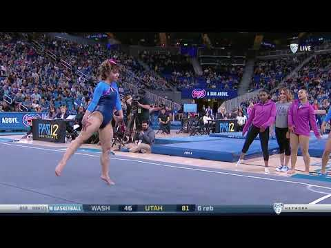 Katelyn Ohashi (UCLA) 2018 Floor vs Utah 9.975