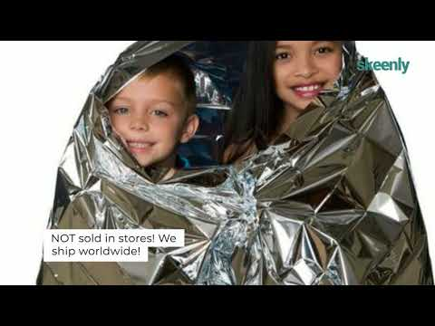 Water Proof Emergency Survival Blanket