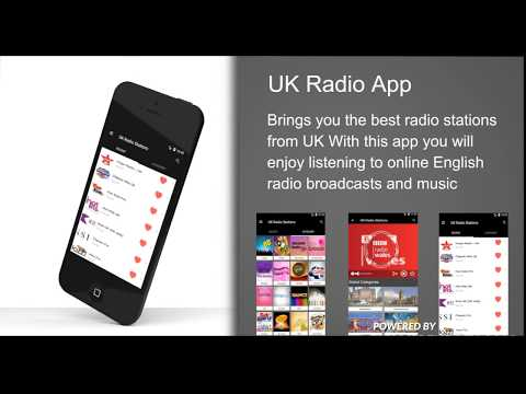 UK Radio App Promo