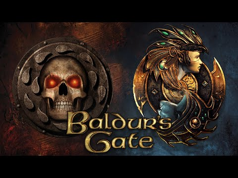 Baldur's Gate 1 + 2 Full Story Recap