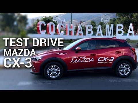Mazda CX-3 Test drive en Cochabamba