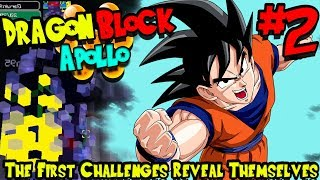 THE FIRST CHALLENGES REVEAL THEMSELVES! | Dragon Block C: Apollo (Minecraft DBZ Server) - Episode 2