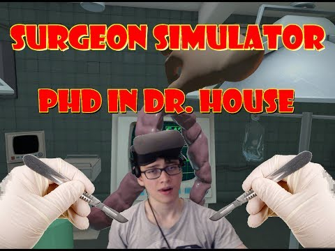 Download Youtube: Oculus Rift VR Surgeon Simulator - Bob Likes To Die, Eye Transplant and Teeth Transplant