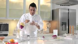 Panasonic Juicer Blender MJ-M176P - Ice Blended Juice & Powder (Tips by Dato' Fazley)