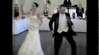 Wedding Reception First Dance SURPRISE James and Jeannine, Michael Jackson PYT jabbawockeez!