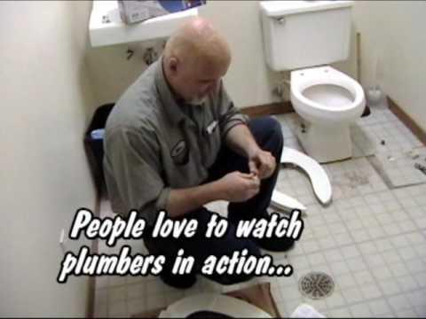 Hilarious Funny Plumber Installs A Toilet Seat Bidet Youtube