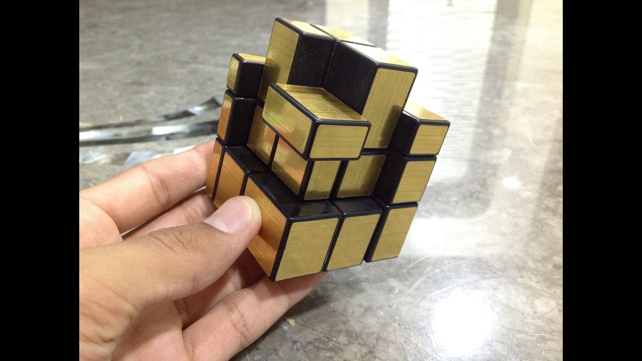 mirror cube in a cube pattern ever made