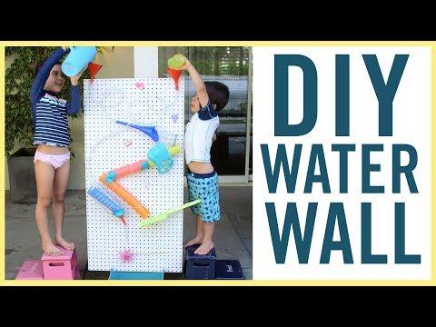 PLAY   DIY Water Wall!