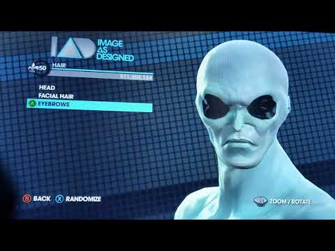 How to make a alien in saint row the third |