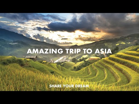 Share your DREAM | Travel HYPERLAPSE video in ASIA