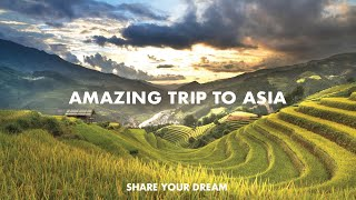 The most AMAZING TRIP in ASIA! An EXCITING travel video made by 2 backpackers
