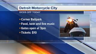 Weekend Planner: Detroit Motorcycle City kicks off, and Parks and Rec Movie Night