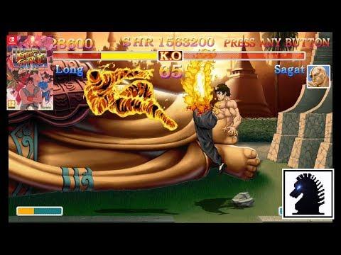 NS Ultra Street Fighter II: The Final Challengers - Fei Long
